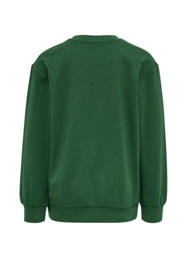 Hummel Dos Sweatshırt Yeşil